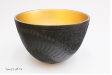 Decorated Bowl 170mm high x 245mm diamete